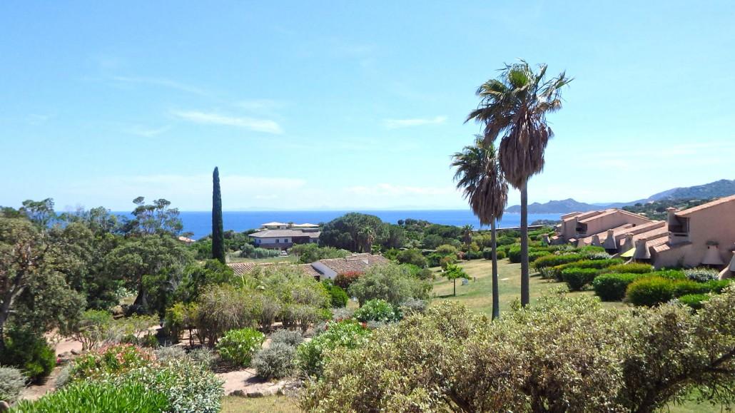 Parc paysagé, jardin résidence Bocca del'Oro