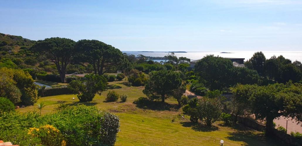 Jardins vue mer Palombaggia