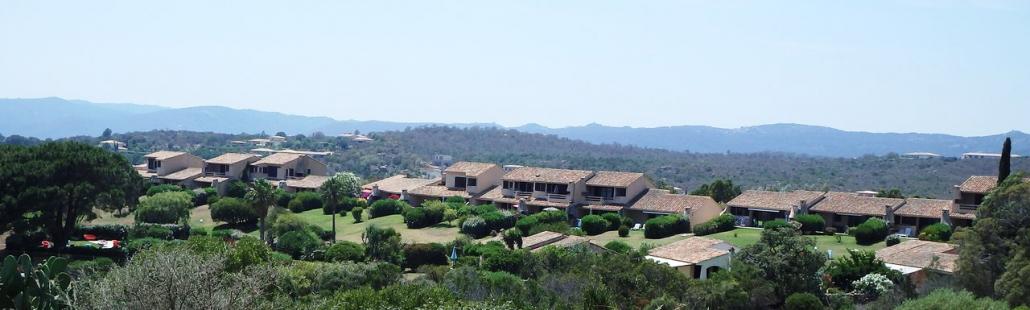 Vue aérienne de la résidence Bocca del'Oro